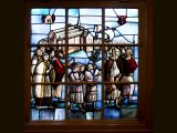 Stained Glass Window in Beginhof Chapel,Amsterdam by Brian POTTER