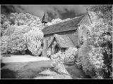 Norburry Chapel Infra Red by Mike Brown