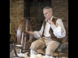 Spinning at Quarry Bank Mill by Vivian Bath