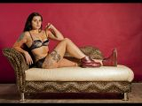 Siobhan on the Chaise Lounge by Ove Alexander