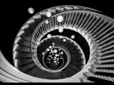 Down The Stairs. Heals Building London by Trevor LOWES