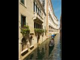 Gondola Canal Ride by Charlie SAYCELL