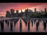 New York Sunset by Mark ROBINSON