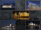 Famous Landmarks in the Dark by Ove Alexander