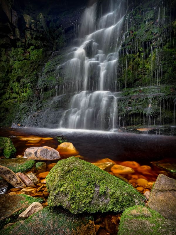 Middle Black Clough by Tim MCANDREW